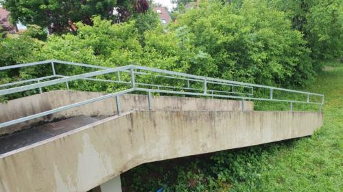 Pfarrheim Treppe